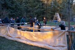 Gigantisk bordfodbold - 13/04/2011